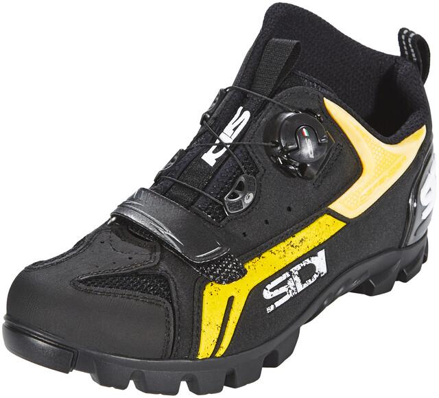 Sidi MTB Defender Shoes Men blackyellow